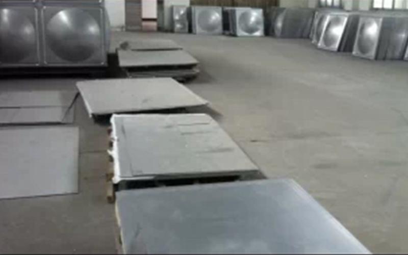 生活水箱不锈钢模压块