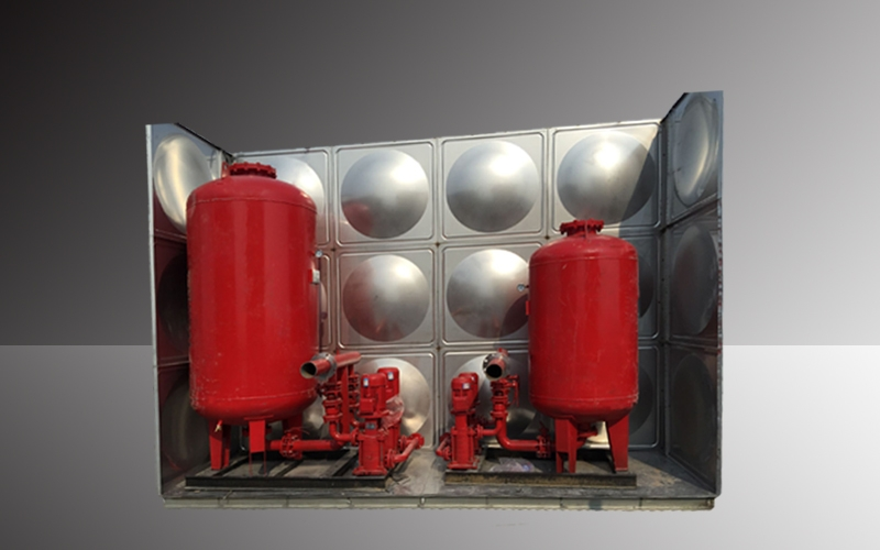 消防箱泵一体化水箱