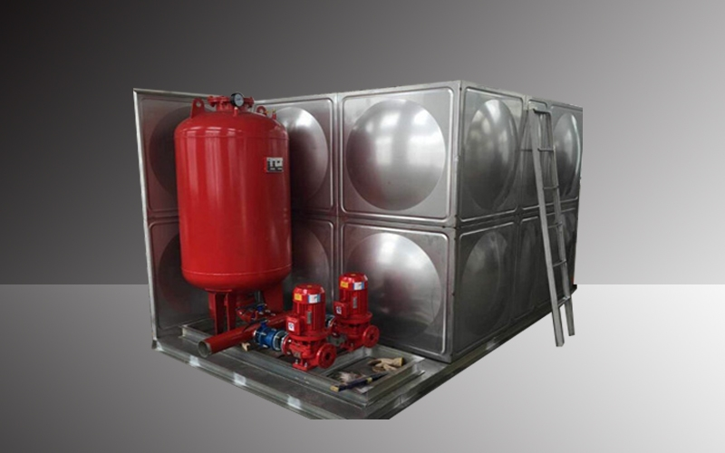 箱泵一体化消防水箱设备