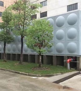 不锈钢消防水箱之圆形水箱的讲解